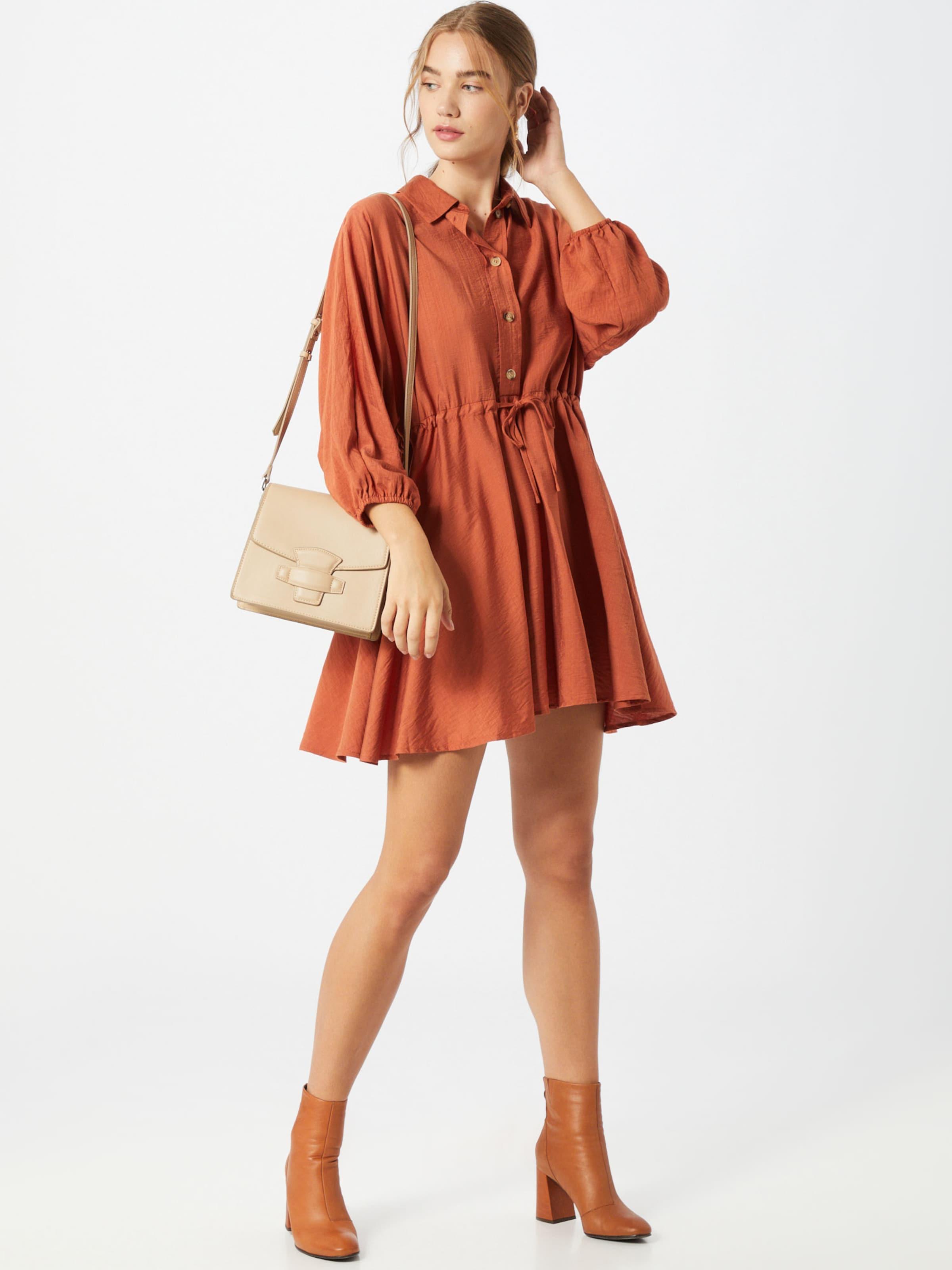 Rut & Circle Kleid  'Melissa' in rostrot