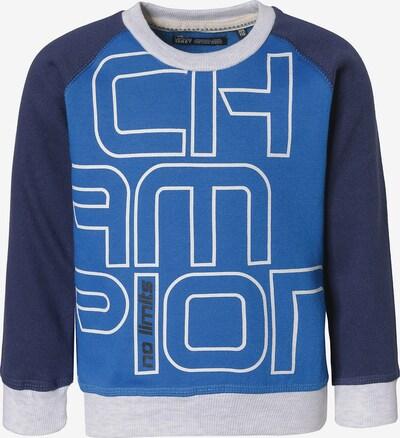 LEMON BERET Sweatshirt in blau / nachtblau / weiß, Produktansicht