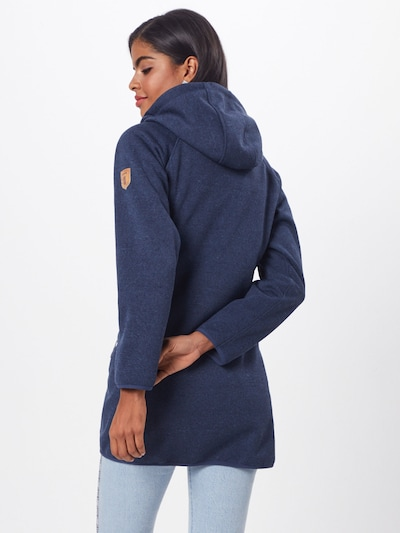 Derbe Jacke 'Leisure Girls' in navy: Rückansicht