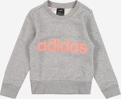 ADIDAS PERFORMANCE Sportsweatshirt  'YG E Lin Sweat' in grau, Produktansicht
