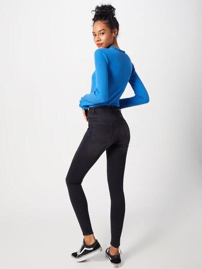 ONLY Jeans 'BLUSH' in black denim: Rückansicht