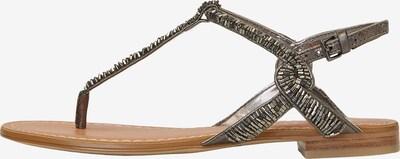 Marc O'Polo Sandale in braun / silber, Produktansicht