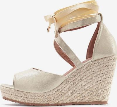 LASCANA Sandalette in gold, Produktansicht