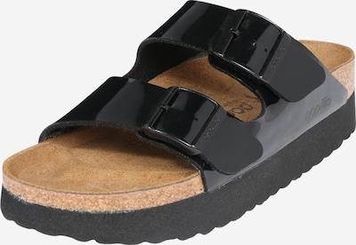 BIRKENSTOCK Pantolette 'Arizona PAP' in schwarz, Produktansicht