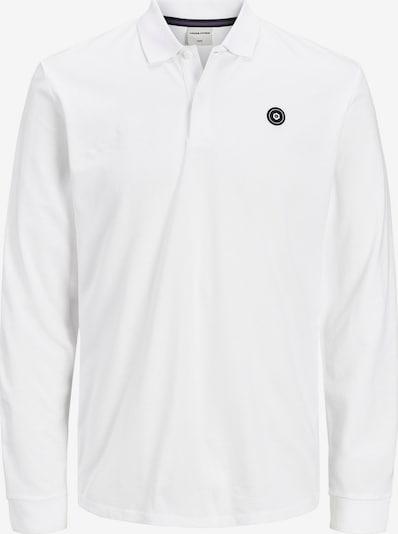 JACK & JONES Shirt in de kleur Nachtblauw / Wit: Vooraanzicht
