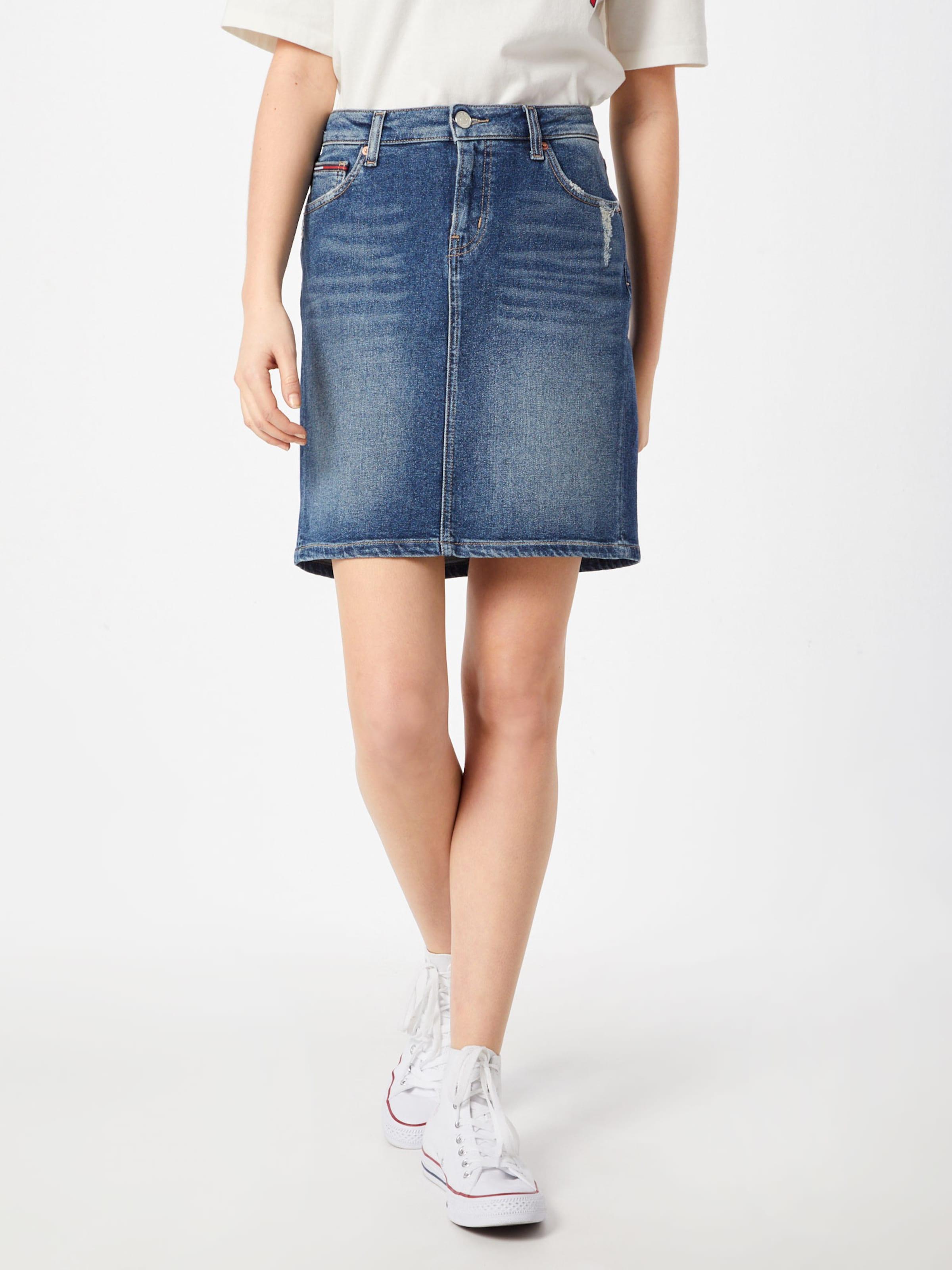Jeans Rock Denim Tommy Blue In sQtdhr