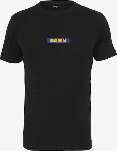 Mister Tee T-Shirt 'Damn' in blau / gelb / schwarz: Frontalansicht