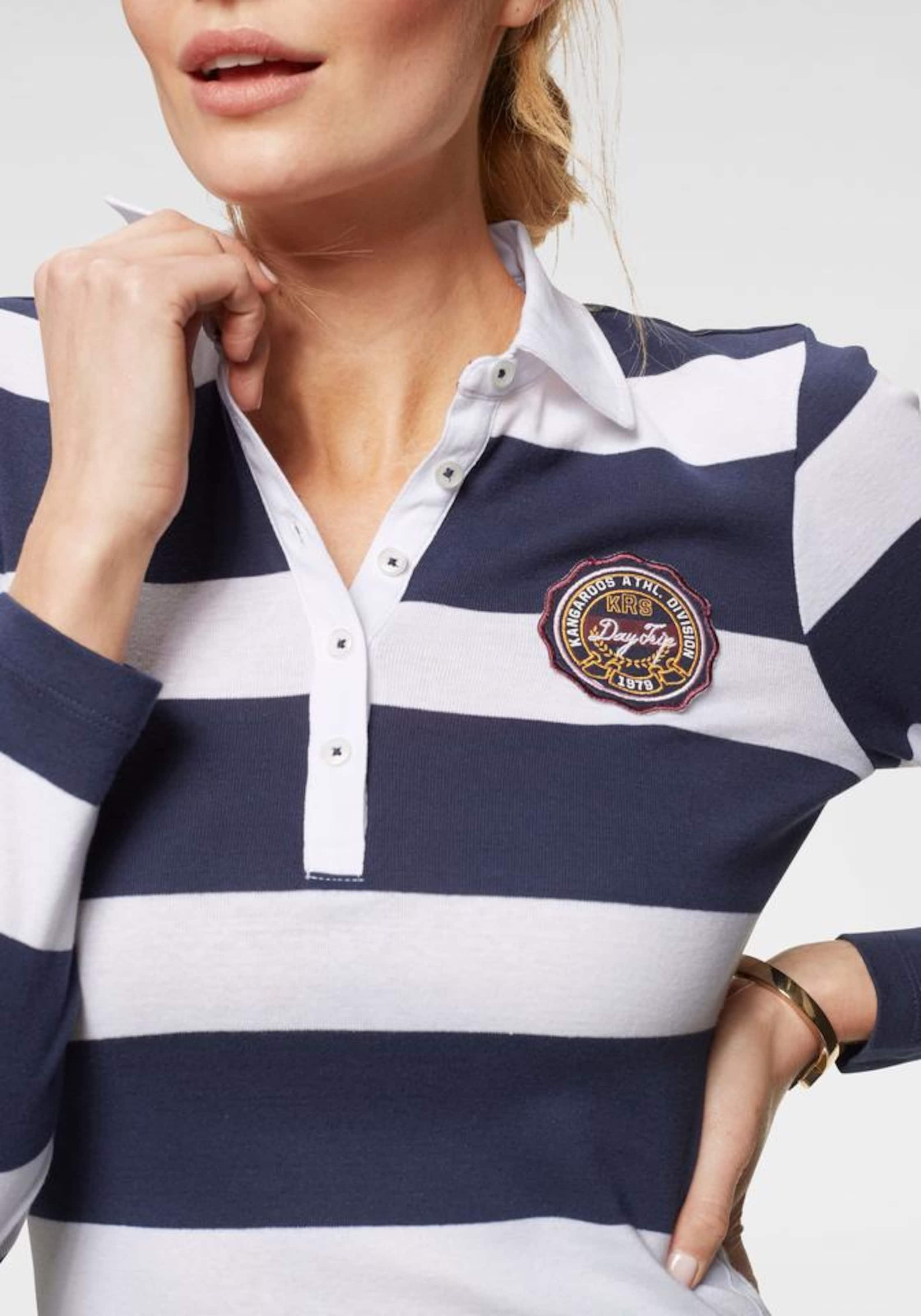 In MarineWeiß Shirt In Shirt Kangaroos MarineWeiß Kangaroos CxQoWBrde