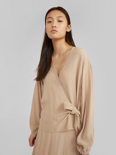 EDITED Bluse 'Franca' in beige, Modelansicht