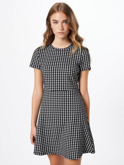 Noisy may Kleid in schwarz / weiß: Frontalansicht