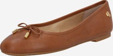 Lauren Ralph Lauren Schuhe 'Jayna' in Braun
