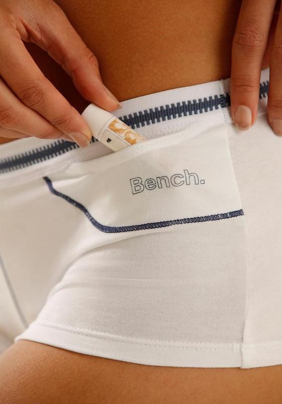 BENCH Panty aus weicher Baumwolle mit kleiner Tasche