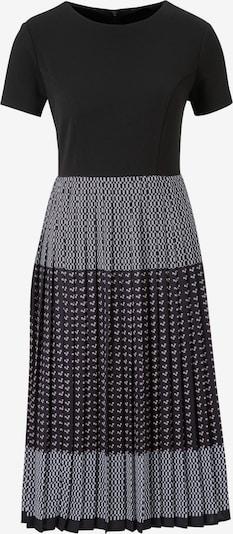 Kokteilinė suknelė iš heine , spalva - juoda / balta: Vaizdas iš priekio