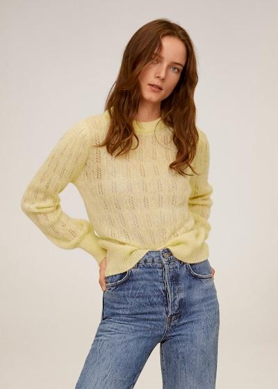 MANGO Pullover 'Rocio' in gelb, Modelansicht