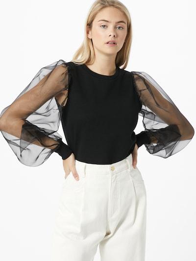 Bluză 'Organza' ONLY pe negru, Vizualizare model