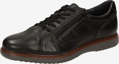 SIOUX Schnürschuh 'Uras' in schwarz, Produktansicht