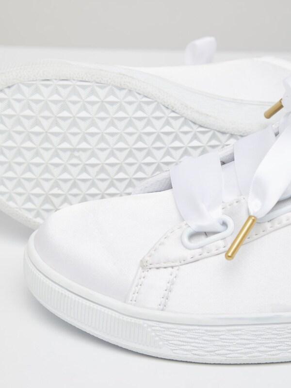 Bianco Sneaker Satin