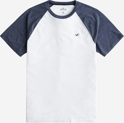 HOLLISTER T-Shirt in navy / weiß, Produktansicht