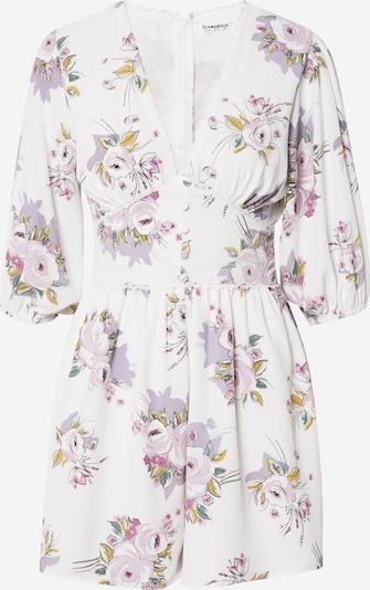 GLAMOROUS Kleid in rosa / weiß, Produktansicht
