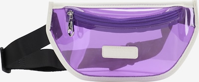 myMo ATHLSR Athletic Fanny Pack in Light purple / Black / White, Item view