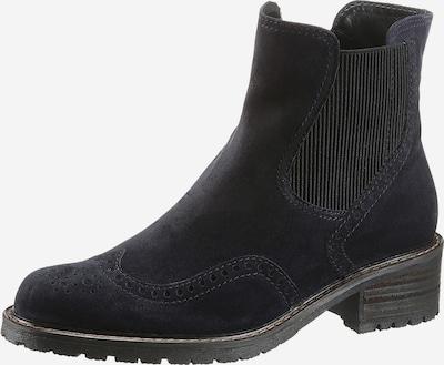 GABOR Chelsea Boots in nachtblau: Frontalansicht