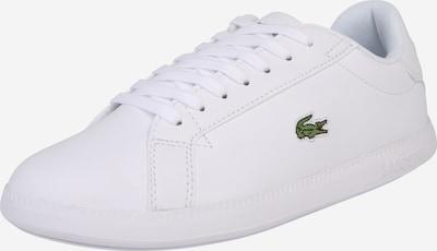 LACOSTE Baskets basses 'Graduate' en blanc, Vue avec produit