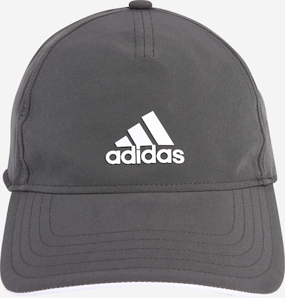 ADIDAS PERFORMANCE Czapka sportowa w kolorze ciemnoszary / białym, Podgląd produktu