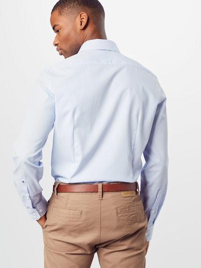 SEIDENSTICKER Hemd 'Business Kent' in hellblau: Rückansicht