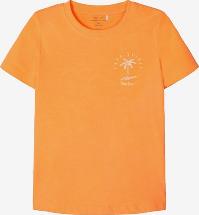 NAME IT Shirt in orange, Produktansicht