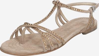 Kennel & Schmenger Sandale 'Elle' in beige / braun, Produktansicht