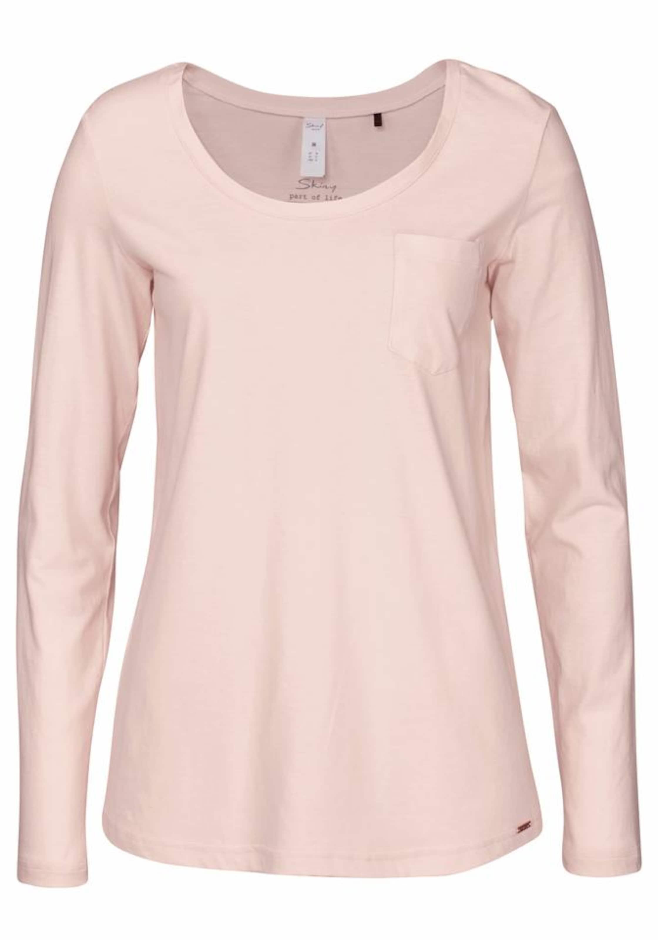 In Shirt Dream' 'sleepamp; Skiny Rosa Langarm hsQdtr