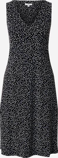 TOM TAILOR Kleid in schwarz / weiß, Produktansicht