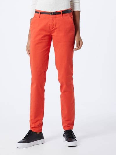 SCOTCH & SODA Hose in orangerot, Modelansicht