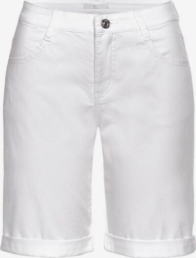 MAC Shorts in white denim, Produktansicht