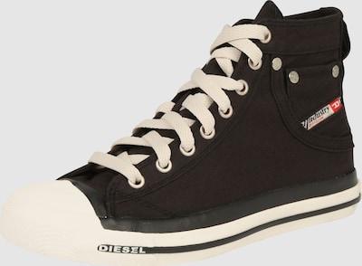 DIESEL Sneakers hoog 'EXPOSURE' in Zwart