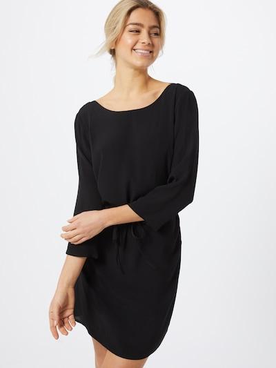 OBJECT Kleid 'OBJLOURDES 3/4 LACE DRESS REP' in schwarz: Frontalansicht