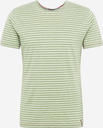 Key Largo T-Shirt 'Daniel' in grün / hellgrün: Frontalansicht