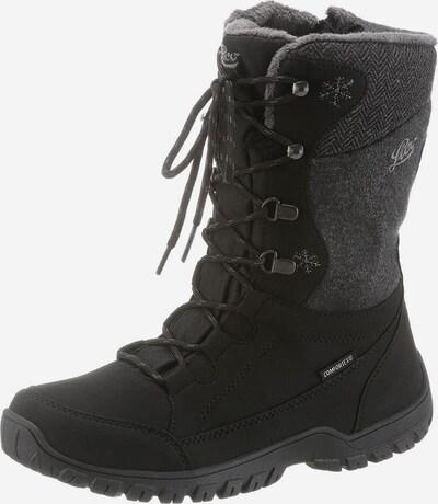 LICO Boots in de kleur Grijs / Zwart, Productweergave