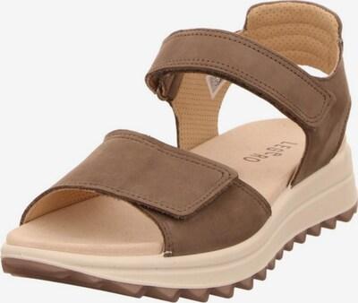 Legero Sandale in hellbraun, Produktansicht
