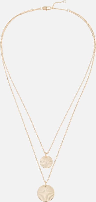 PIECES Kette 'COMBI NECKLACE' in gold, Produktansicht