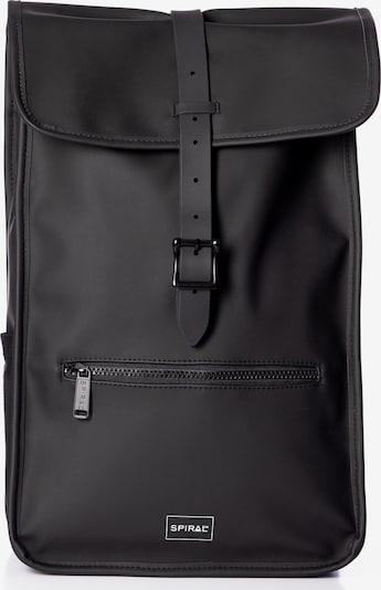 SPIRAL Rugzak 'ZONE' in de kleur Zwart / Wit, Productweergave