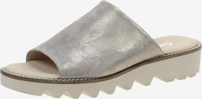 GABOR Pantoletten in silber, Produktansicht