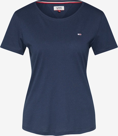 Tommy Jeans Shirt in de kleur Navy, Productweergave