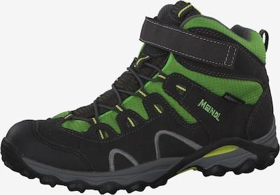 MEINDL Schuhe 'Lucca Junior Mid' in anthrazit / grün, Produktansicht