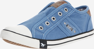 MUSTANG Platform trainers in Light blue, Item view