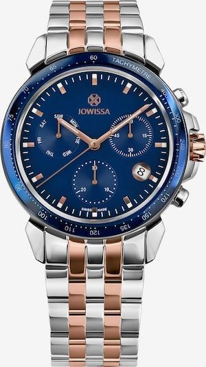 JOWISSA Analoog horloge 'LeWy 9' Swiss Men' in de kleur Blauw / Rose-goud / Zilver, Productweergave