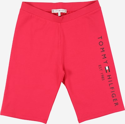 TOMMY HILFIGER Leggings 'ESSENTIAL CYCLING' in cranberry, Produktansicht