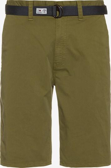 Pantaloni chino Tommy Jeans di colore oliva, Visualizzazione prodotti