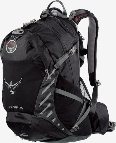 Osprey Sportrugzak 'Escapist' in de kleur Grijs / Zwart, Productweergave