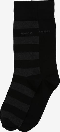 BOSS Nogavice '2P BlockStripe' | črna barva, Prikaz izdelka